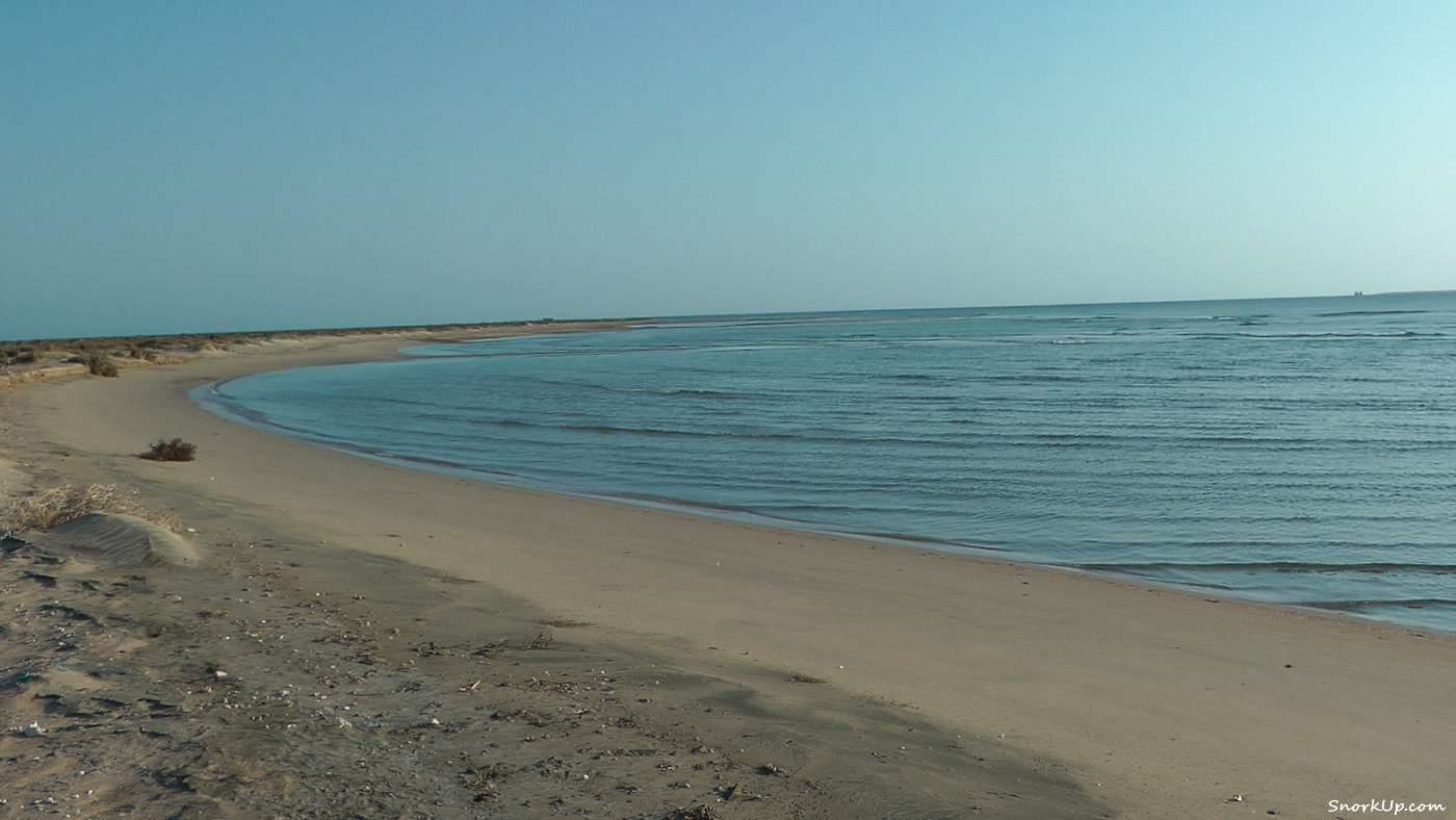 Южная сторона мыса Багдади - в сторону открытого моря